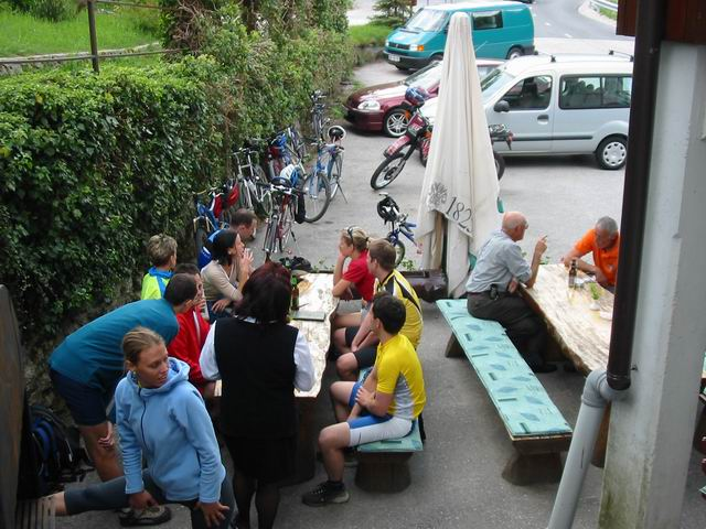 Events: the cyclists